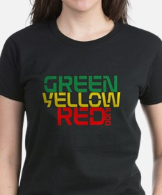 Ink Life Green Yellow Red Tee T-Shirt