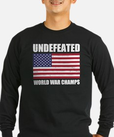 Undefeated World War Champs Long Sleeve T-Shirt