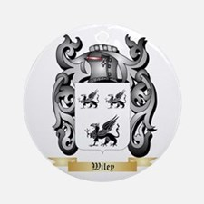 Wiley Round Ornament