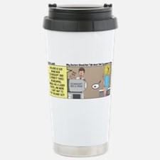 The Colonoscopy 3000 XL Stainless Steel Travel Mug