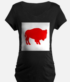 Red Buffalo Maternity T-Shirt