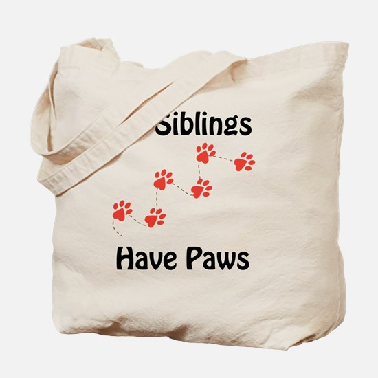 Cute Dog big sister Tote Bag