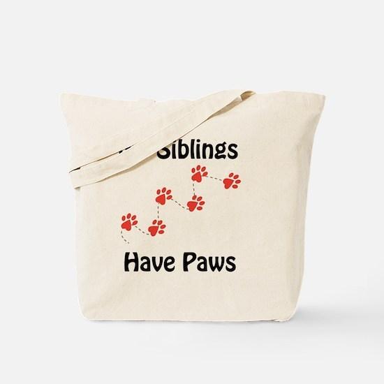 Cute Big sister dog Tote Bag