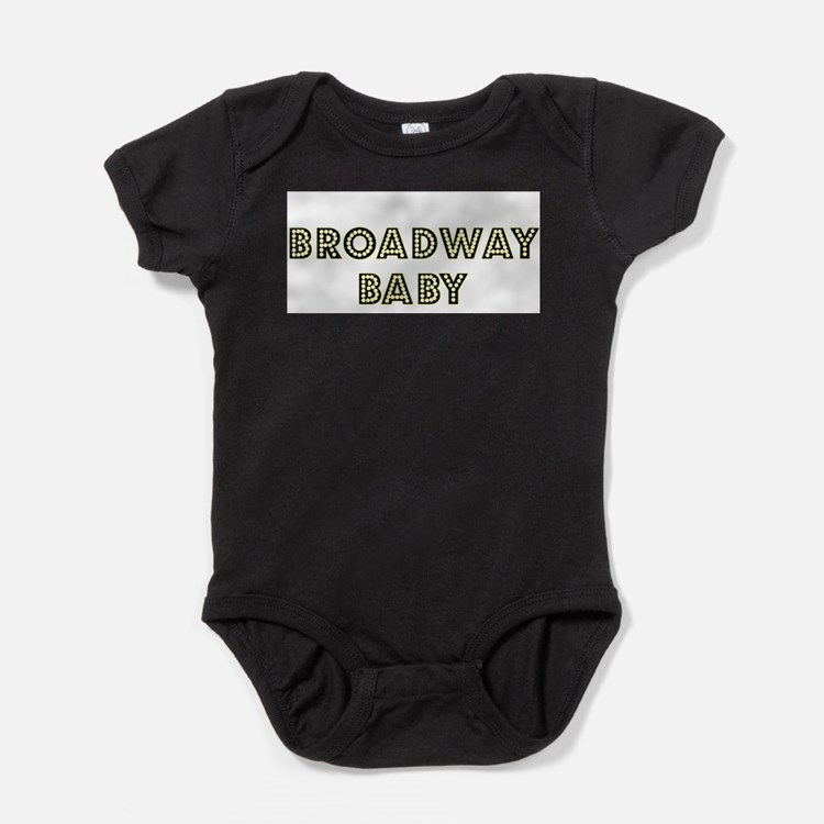 Cute New york broadway Baby Bodysuit