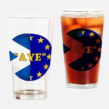 AYE to Europe! Drinking Glass