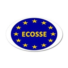 Ecosse Together With Europe Wall Decal