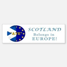Ecosse Together With Europe Car Car Sticker
