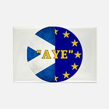 AYE to Europe! Rectangle Magnet