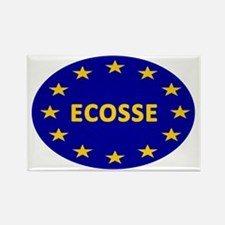 Ecosse Together With Europe Rectangle Magnet