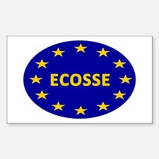 Ecosse Together With Europe Sticker (Rectangle)