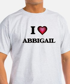 I Love Abbigail T-Shirt