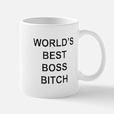 World's Best Boss Bitch Mugs