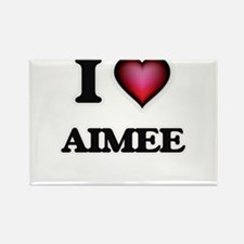 I Love Aimee Magnets