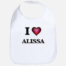 I Love Alissa Bib