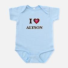 I Love Alyson Body Suit
