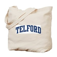 TELFORD design (blue) Tote Bag