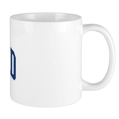 TELFORD design (blue) Mug