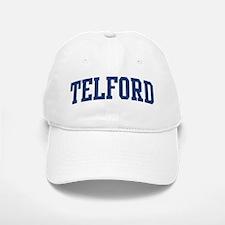 TELFORD design (blue) Baseball Baseball Cap