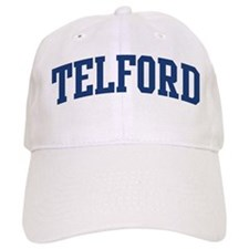 TELFORD design (blue) Baseball Cap