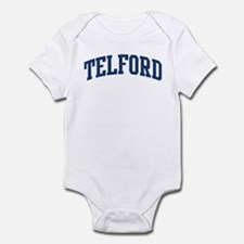 TELFORD design (blue) Infant Bodysuit