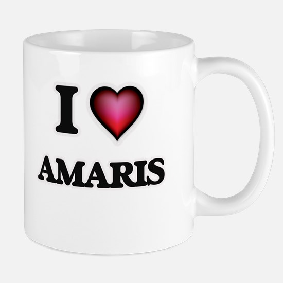 I Love Amaris Mugs