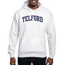 TELFORD design (blue) Hoodie