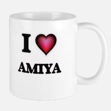 I Love Amiya Mugs