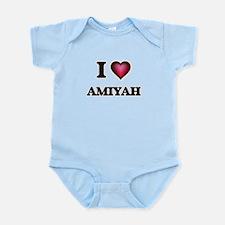 I Love Amiyah Body Suit