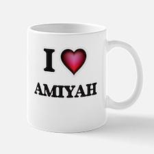 I Love Amiyah Mugs