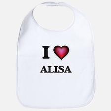 I Love Alisa Bib