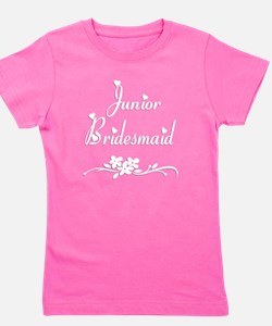 Cute Flower girl Girl's Tee