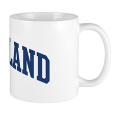 STRICKLAND design (blue) Mug