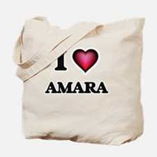 I Love Amara Tote Bag