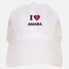 I Love Amara Baseball Baseball Cap