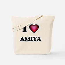 I Love Amiya Tote Bag