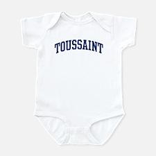 TOUSSAINT design (blue) Infant Bodysuit