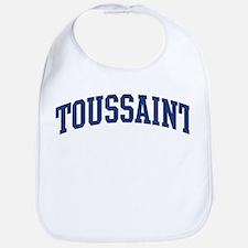 TOUSSAINT design (blue) Bib