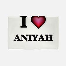 I Love Aniyah Magnets