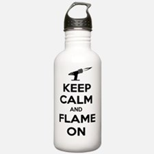 Funny Lampworking Water Bottle