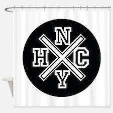 New York Hardcore Shower Curtain
