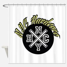 NYC Hardcore Shower Curtain