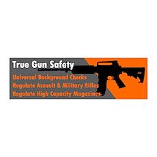 Gun Safety Wall Decal