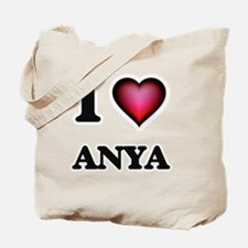 I Love Anya Tote Bag