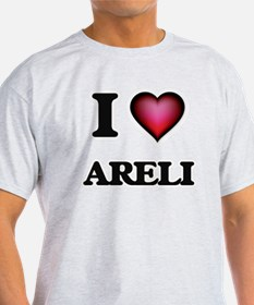 I Love Areli T-Shirt