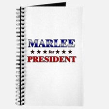 MARLEE for president Journal