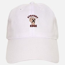 Straight Edge Baseball Baseball Baseball Cap