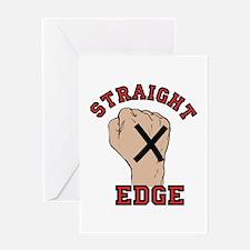 Straight Edge Greeting Cards