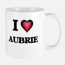 I Love Aubrie Mugs