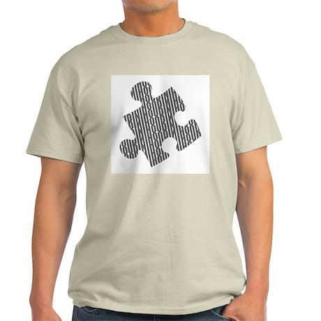 Houdini Puzzle Standard T-Shirt, Gray Design T-Shi