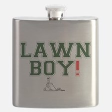 LAWN BOY! Flask